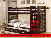 BUNK BEDS ON SALE LIKE NEVER BEFORE.........13 SLABS BRAZIL MADE