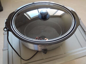 Like new wok and slow cooker