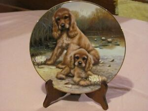 Hamilton Collection - plate and stand