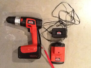 Jobmate 18V Cordless Drill c/w Charger