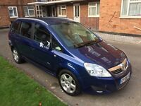 2008 Vauxhall zafira breeze 1.9 cdti + 1 year MOT