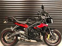Triumph Street Triple R ABS Fitted with Many Extra's