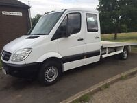 Mercedes sprinter double cab recovery