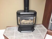 Gas Stove fireplace