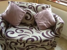 TWO SEATER CUDDLE SOFA
