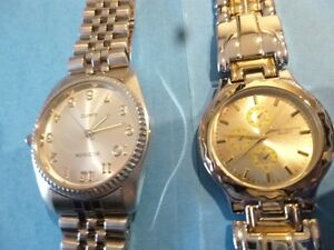 Two - 2  - New Watches - Never Used - New Batteries