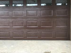 14 ft x 7ft 9inch garage door