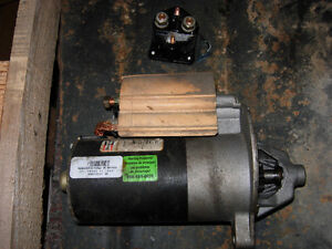 95 Ford 302 (5.0) engine parts Tensioner, Starter, Solenoid, etc Cambridge Kitchener Area image 1
