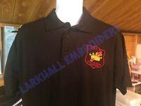 Royal Black Preceptory Polo Shirt