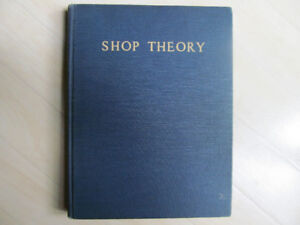 Vintage 1942 Henry Ford Trade School Shop Theory