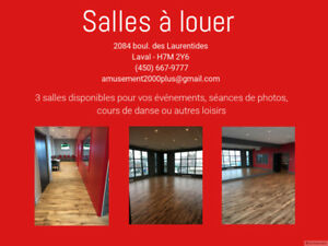 Studio de danse à louer/Dance Studio for Rent