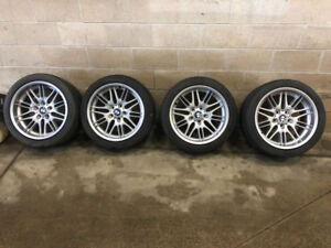 E39 BMW M5 Staggered 18 inch OEM Factory Rims