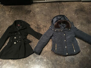 2 winter coats for sale