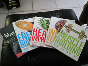 Men's Health Set of Cook Books plus a Style Book