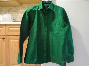 Green Hindu Wedding Shirt $50
