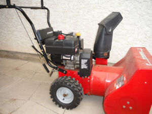 snowblower , 8 h.p.  24. in. , electric start ....