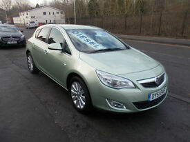 VAUXHALL ASTRA 2.0 CDTI DIESEL ELITE 5 DOOR FULL HEATED LEATHER F.S.H 2011-61