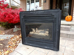 """Gas Fireplace Insert 38"""" x36"""" -Works Great Excellent Condition Kitchener / Waterloo Kitchener Area image 1"""