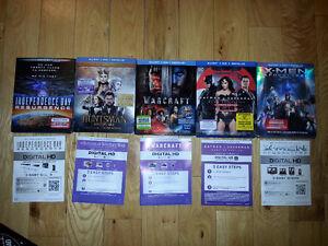 CODE  Digital HD (lot de 6) + code jeux PC/Mac World of Warcraft
