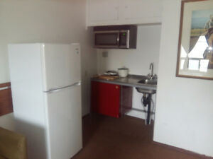 motel room with kitchenette for rent by month in Brooks,AB
