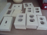 Electrical switch plates - various sizes