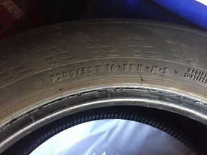 REDUCED PRICE 4 good used 205/55r16 Cambridge Kitchener Area image 4