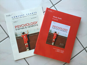 Psychology Themes and variations 2nd Edition with study guide