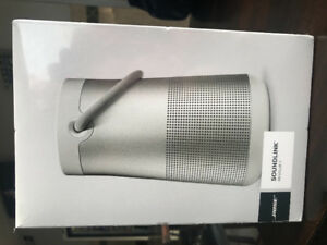 Brand new Bose Revolve Bluetooth speakers. $180 or $280. Grey.