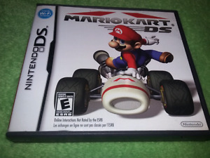 For sale Mario kart ds complete with manual.