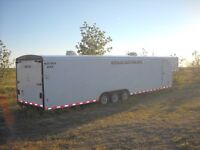 2003 royal cargo 48FT enclosed trailer 38FT lower Floor space