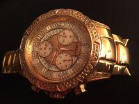 Luxury watch Aqua master chronograph 1.8 ct