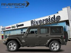 2018 Jeep Wrangler Unlimited Sahara  - Navigation - $263.32 B/W