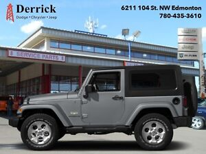 2014 Jeep Wrangler   Used 4WD Sahara Nav Htd Frnt Sts Blutooth $