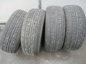 4 x Uniroyal Tiger paw AS65 215/65/16