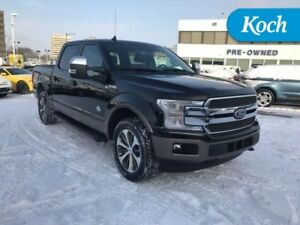 2018 Ford F-150 King Ranch  3.5 EcoBoost, BLIS, Inflat rr belts