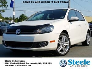 2013 VOLKSWAGEN GOLF Comfortline - TDI Diesel, Off Lease, Low Mi
