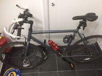 Ridgeback Velocity Hybrid Bike.