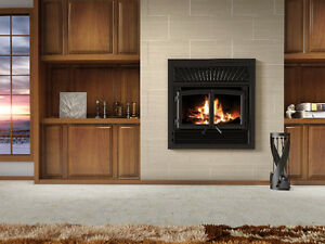 Brand NNEEDS TO BE SOLD ! Enerzone SOLUTION 2.5-ZCWOOD FIREPLACE