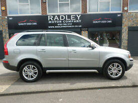 2009 Volvo XC90 2.4 AWD Geartronic D5 SE 5DR 09 REG Diesel Silver