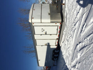 30ft enclosed trailer