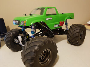 HPI Wheely King rc car
