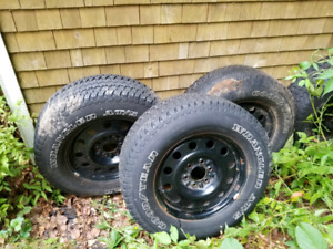 Goodyear 275 65 18 tires on rims