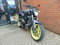 2017 (17) YAMAHA MT-07 includes Heated Grips and Aftermarket Levers