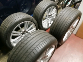 BMW M Sport Alloy Wheels & Tyres