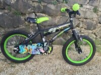 "Ben ten ultimate alien edition bike 16"" wheels"
