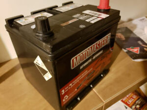 New 3days old unused 12 volt car battery for $140