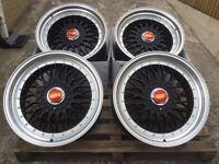 """Brand new 19"""" RS BBS style alloy wheels 5x112 Audi VW merc"""