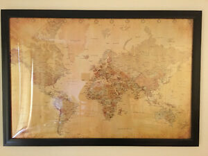 Map of the world for sale