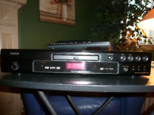Denon #1910 DVD, CD, MP3 player, w/remote