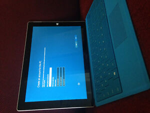 Microsoft surface 3. 128Gb .new in box .Cover .Keyboard.($650)